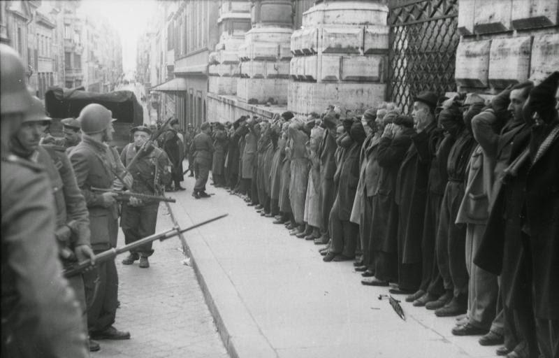 Retata dopo l'attentato (archivio federale tedesco)