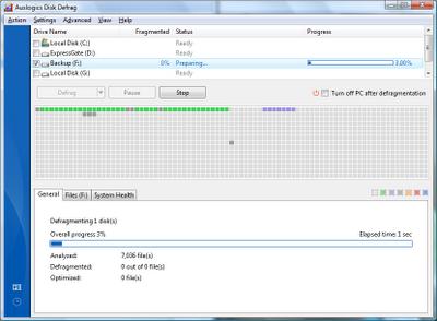 Auslogics Disk Defrag 3.6.1.0