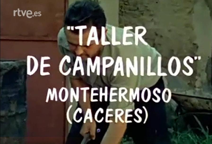 Taller de campanillos. Montehermoso (Cáceres)