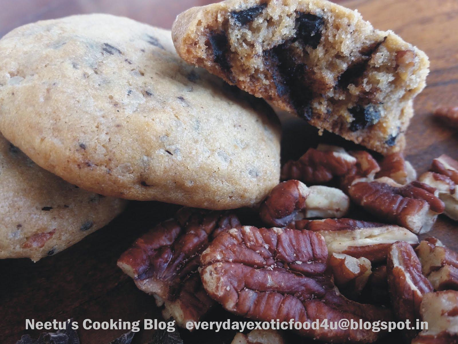 Pecan Chocochip Cookies