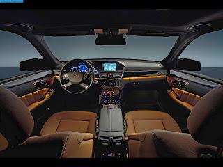 Mercedes e350 interior - صور مرسيدس e350 من الداخل