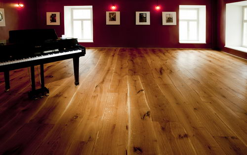 Bolefloor Curve Wood Flooring Design