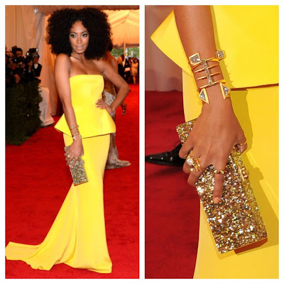 Solange Knowles - 2012 Met Gala