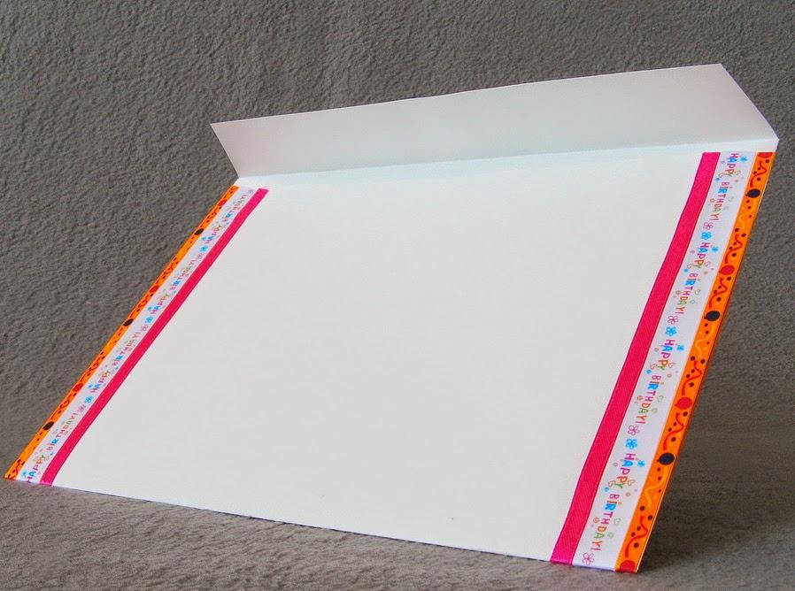 конверт для ежегодного письма ко дню рождения