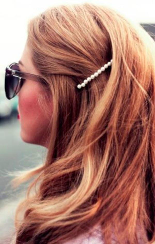 pearl barrette