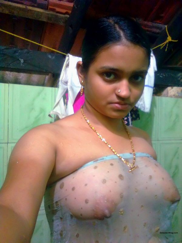 Desi Village Aunty Radha Bathing