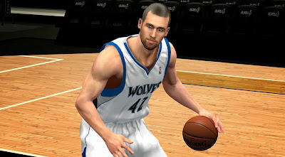 NBA 2K14 Kevin Love Shaved Cyberface
