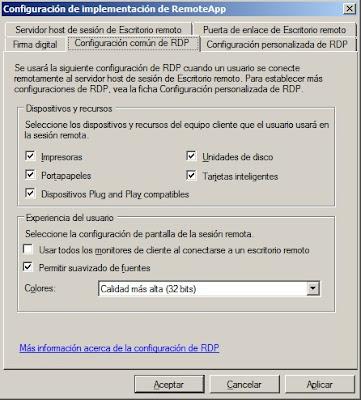 cerowarnings RemoteApp