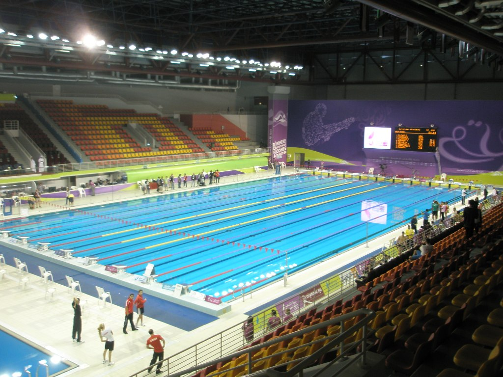 Aspire Qatar Swimming Natacion. Swimming: Mu...