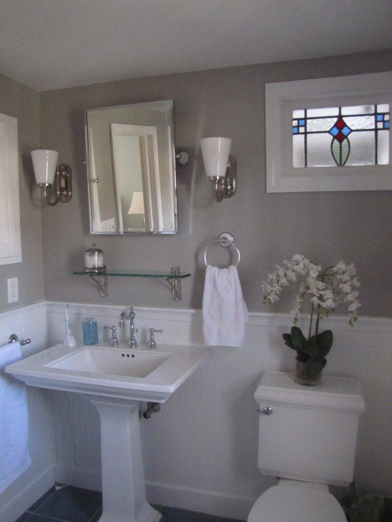 The room stylist refreshing our master bathroom 2 color bathroom paint ideas