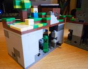 It's Minecraft Lego