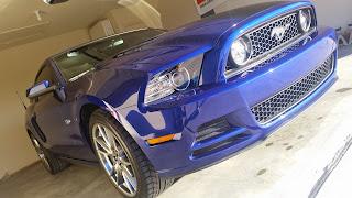 2014 Mustang GT - Deep Impact Blue - k1DBLITZ
