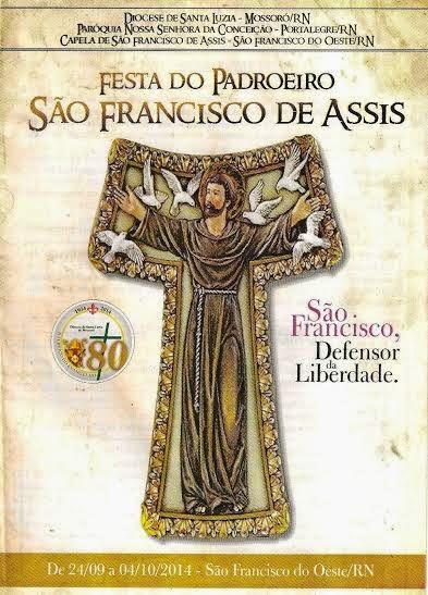 FESTA DE PADROEIRO EM SÃO FRANCISCO DO OESTE/RN.