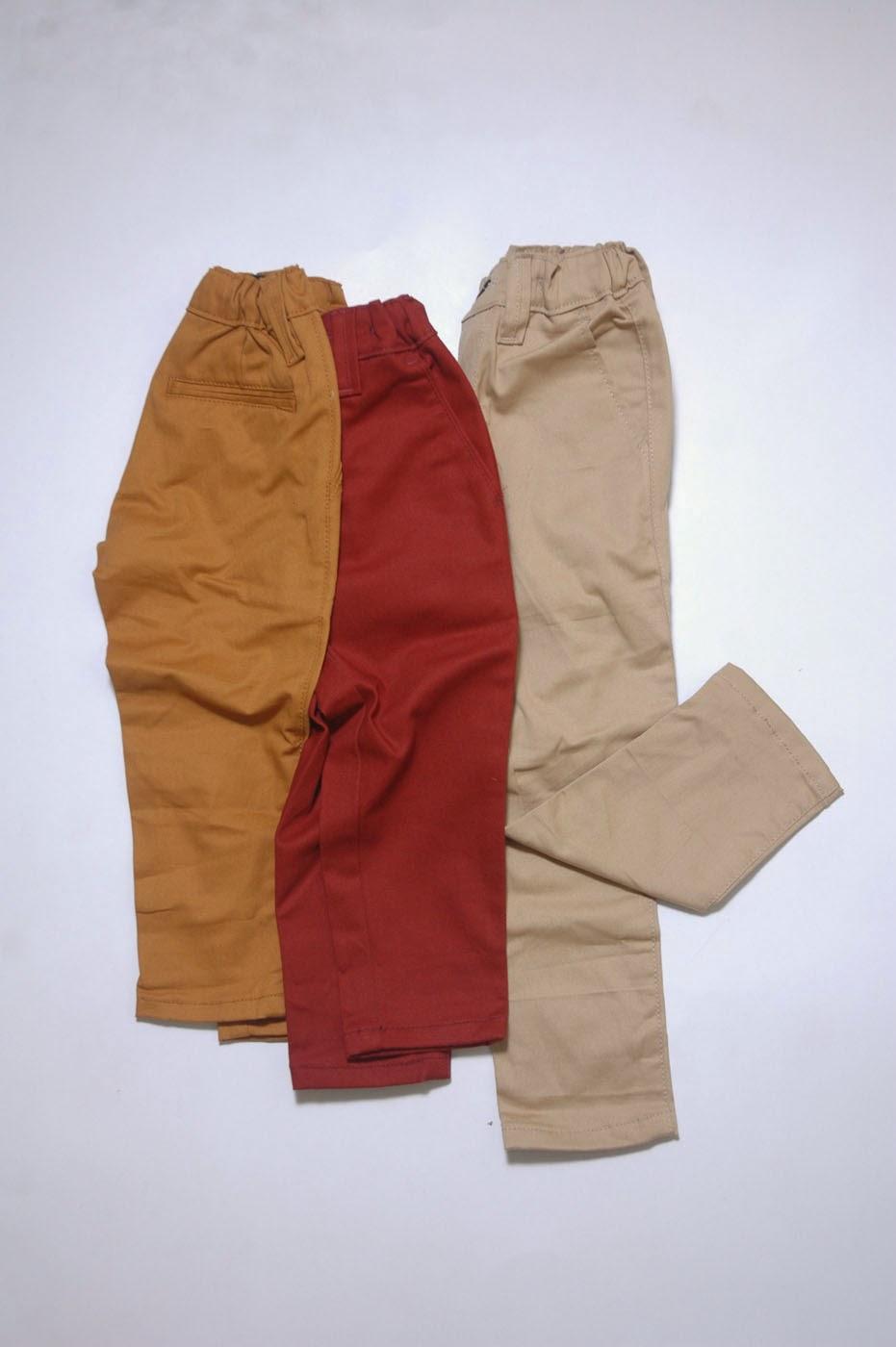 Jual Celana Chino Anak Laki Laki dan Perempuan Murah