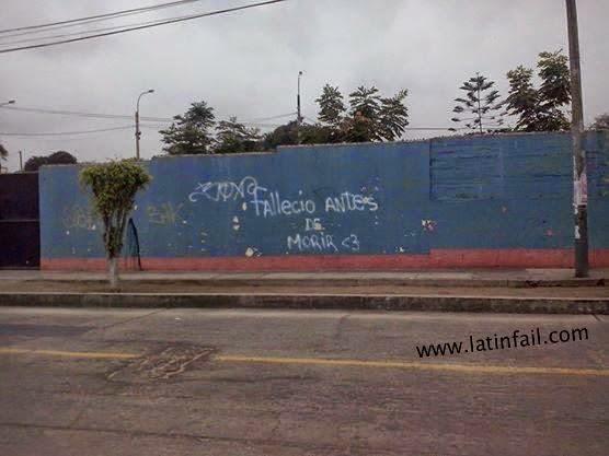 ERRORES ORTOGRÁFICOS - ¿FALLECIO ANTES DE MORIR? NO ME DIGAAAAAA :)