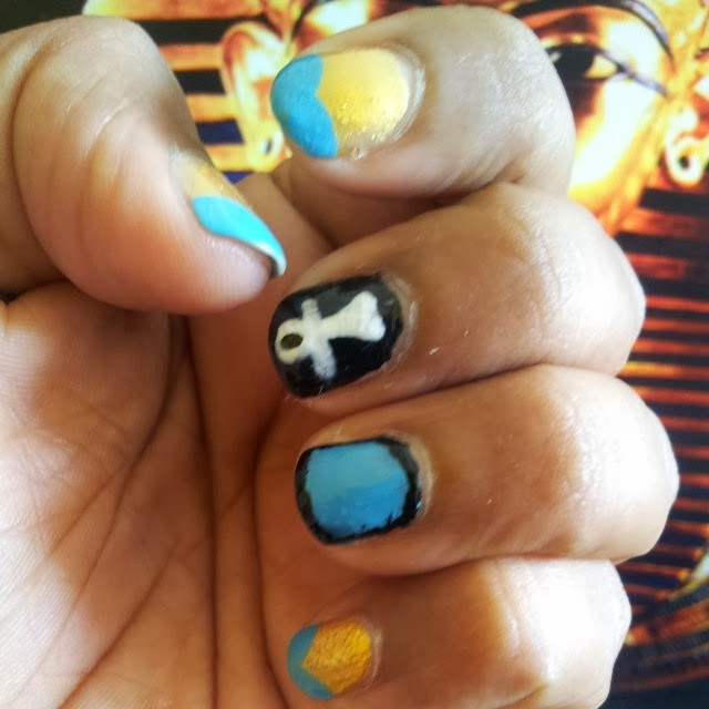 Katy Perry Dark Horse Nails | Sugar, Spice and Everything Nice