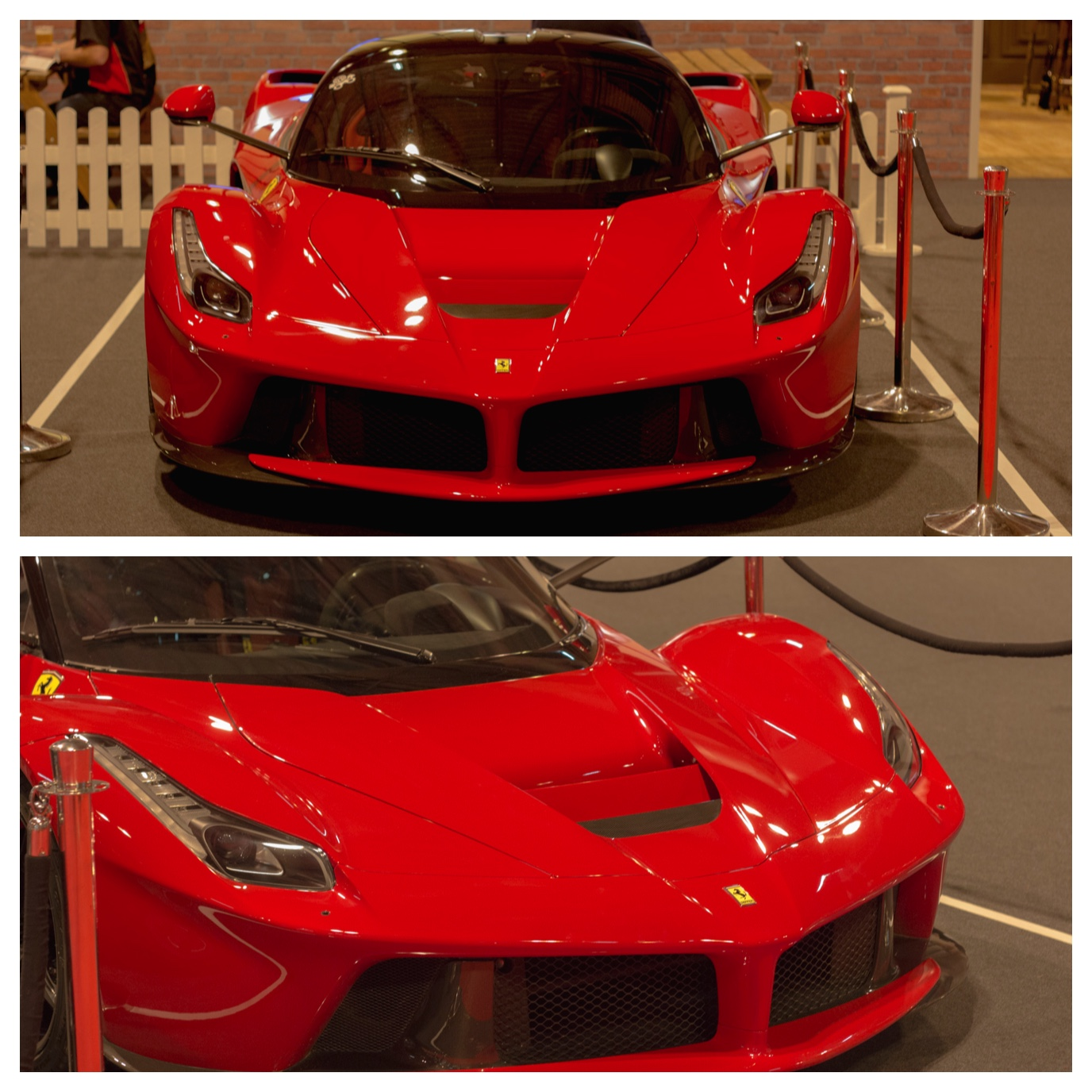 Ferrari LaFerrari at Autosport International 2015