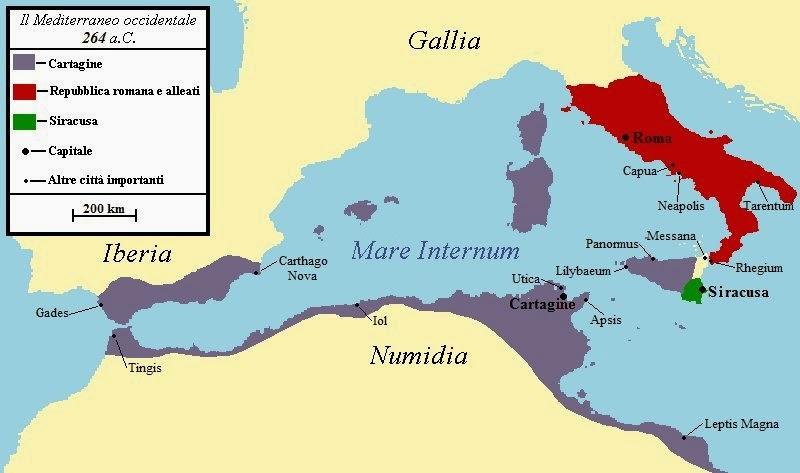 Riassunto Prima Guerra Punica