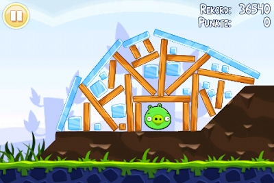 Angry Birds 1-19 Poached Eggs