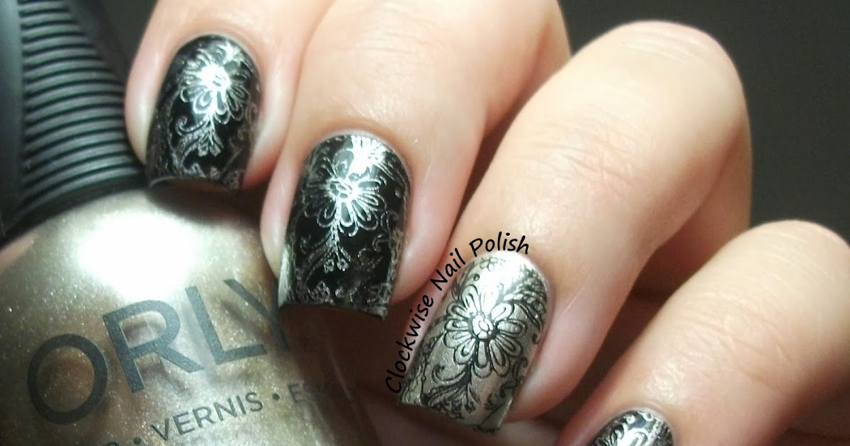 The Clockwise Nail Polish: Sunday Stamping Challenge: Over ...