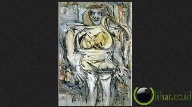 Woman III karya Willem de Kooning