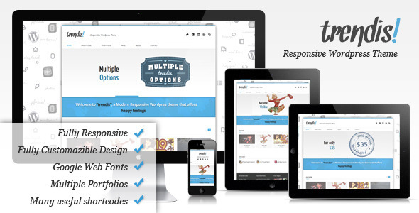 Image for Trendis Responsive Theme by ThemeForest