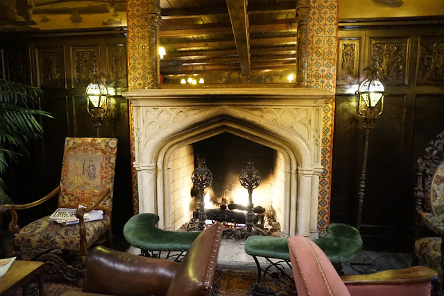 bowery hotel new york city lobby fireplace