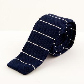 Modne krawaty - knit