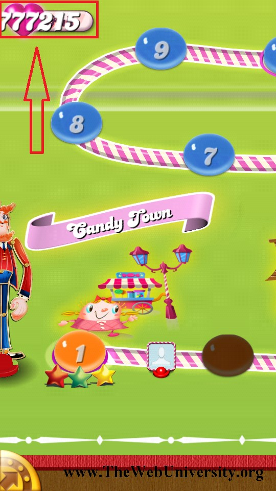 Candy Crush Saga Android Game : All Levels Unlocked + Unlimited Lives
