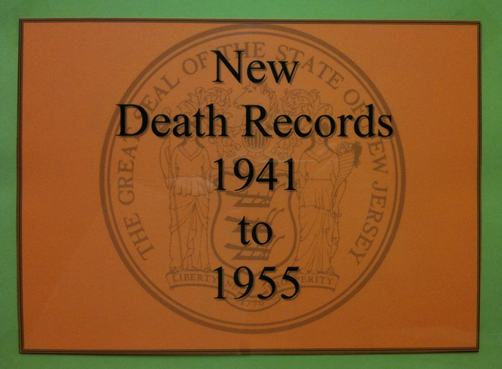 Family History Research by Jody Lutter: New Jersey Death ...