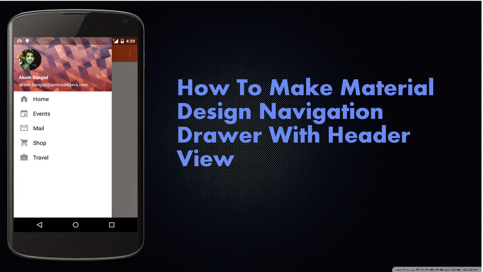 Navigation Drawer Android