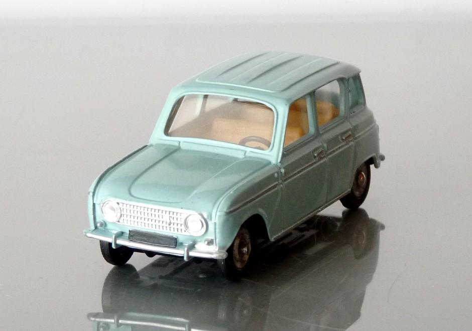 Garage de poche jip renault 4l dinky toys for Garage renault 94