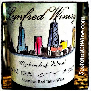 Lynfred Winery Vin de City Red