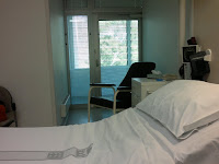 Ziekenhuis kamer.