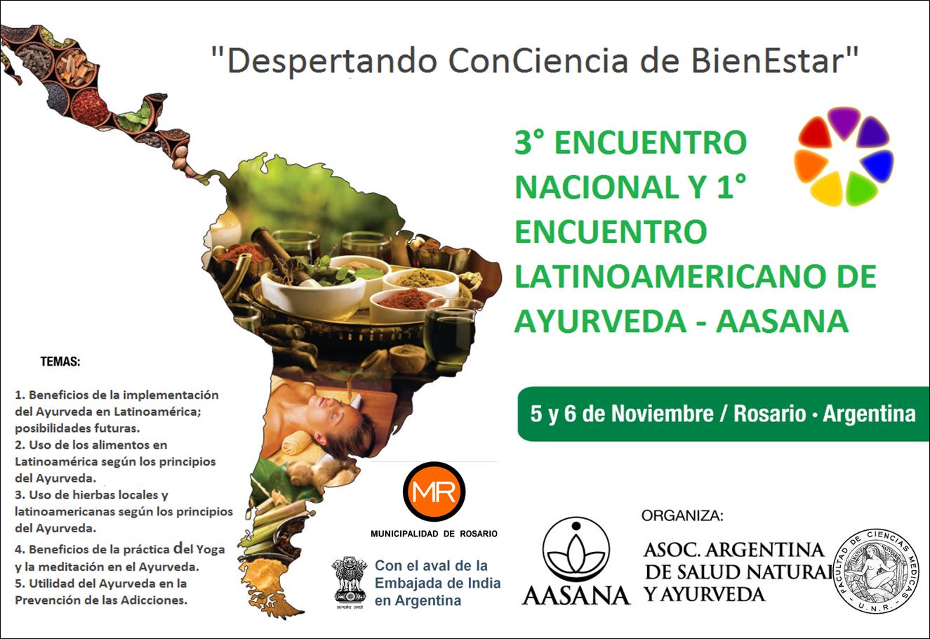 1° Encuentro Latinoamericano de Ayurveda