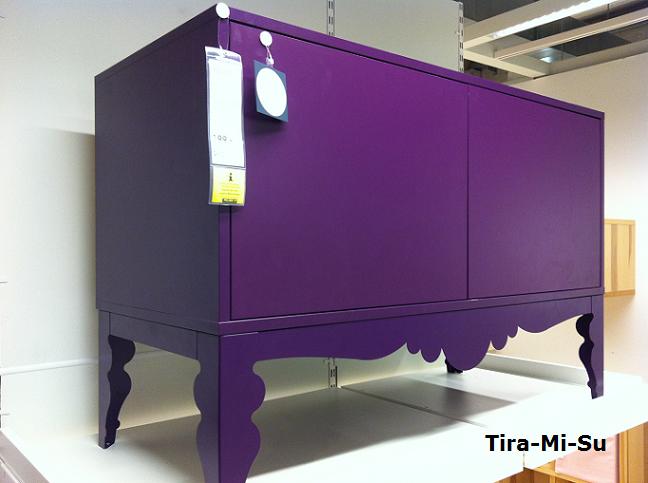 Ikea Trollsta Sideboard Das Lilane Trollsta Sideboard