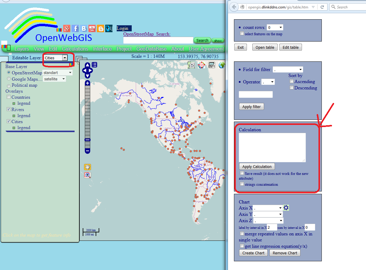 Openwebgis is free online gis 2015 figure 2 attribute table of the layer gumiabroncs Choice Image