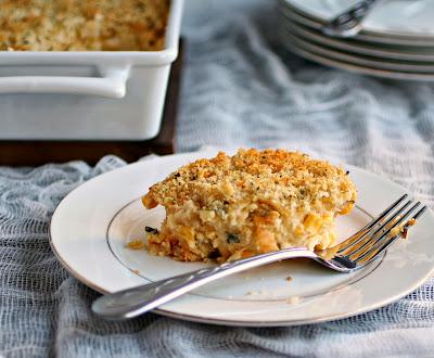 Creamy and Crunchy Corn Casserole