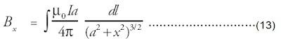sifat simetri komponen yang tegak lurus sumbu x akan saling meniadakan