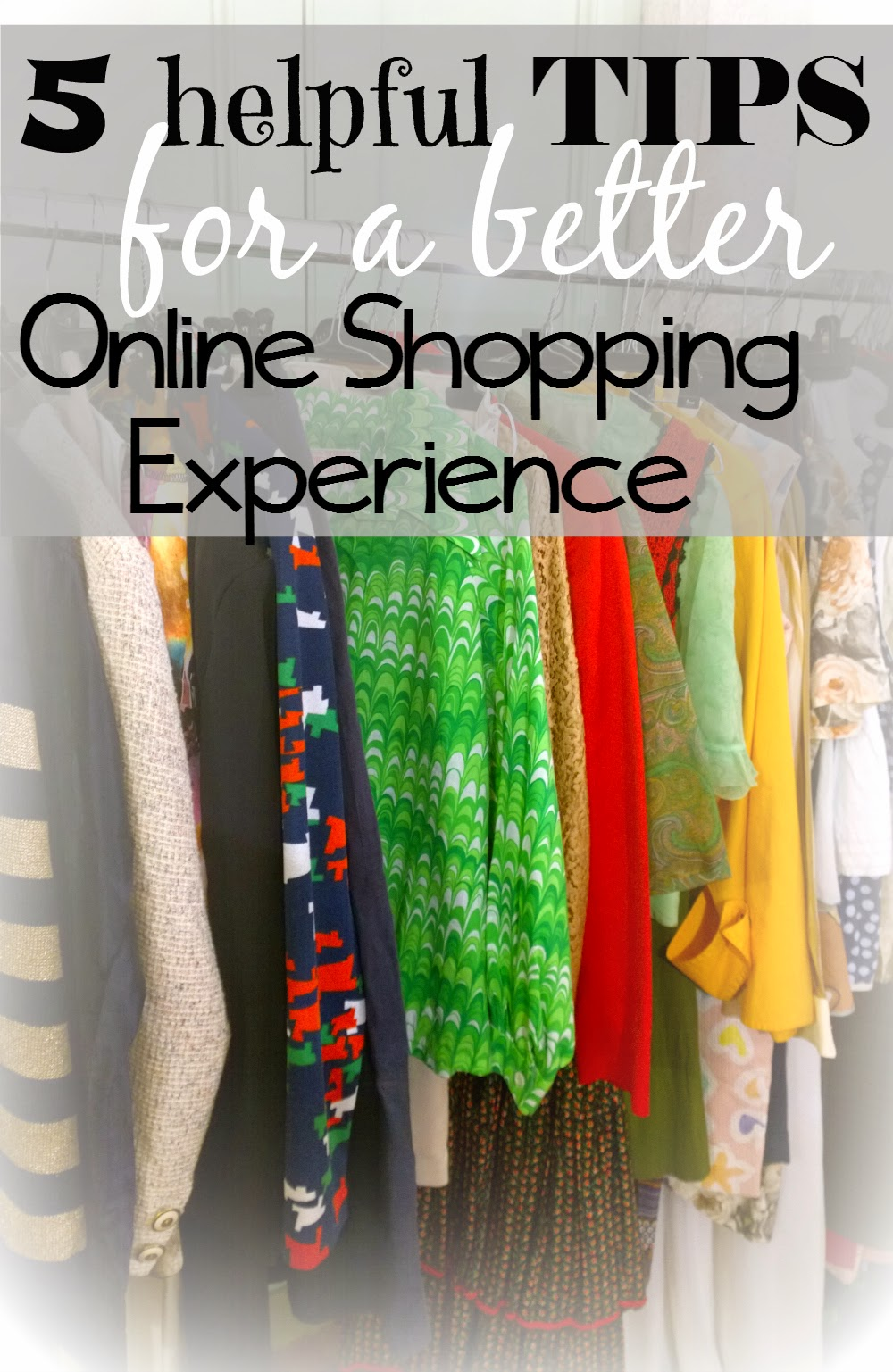 Tips for Online Shopping to help limit mispurchases for items you cannot touch or try on before you pay | 5 Tips for better Online Shopping || Funky Jungle, fashion and personal style blog