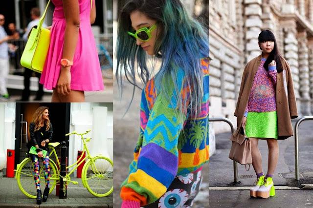 Fashion Warna-Warni Di Musim Hujan
