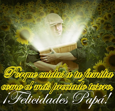Mensajes para el Día del Padre V (Imágenes y Postales) - Happy father day