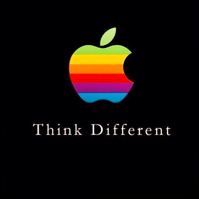 advertising think different
