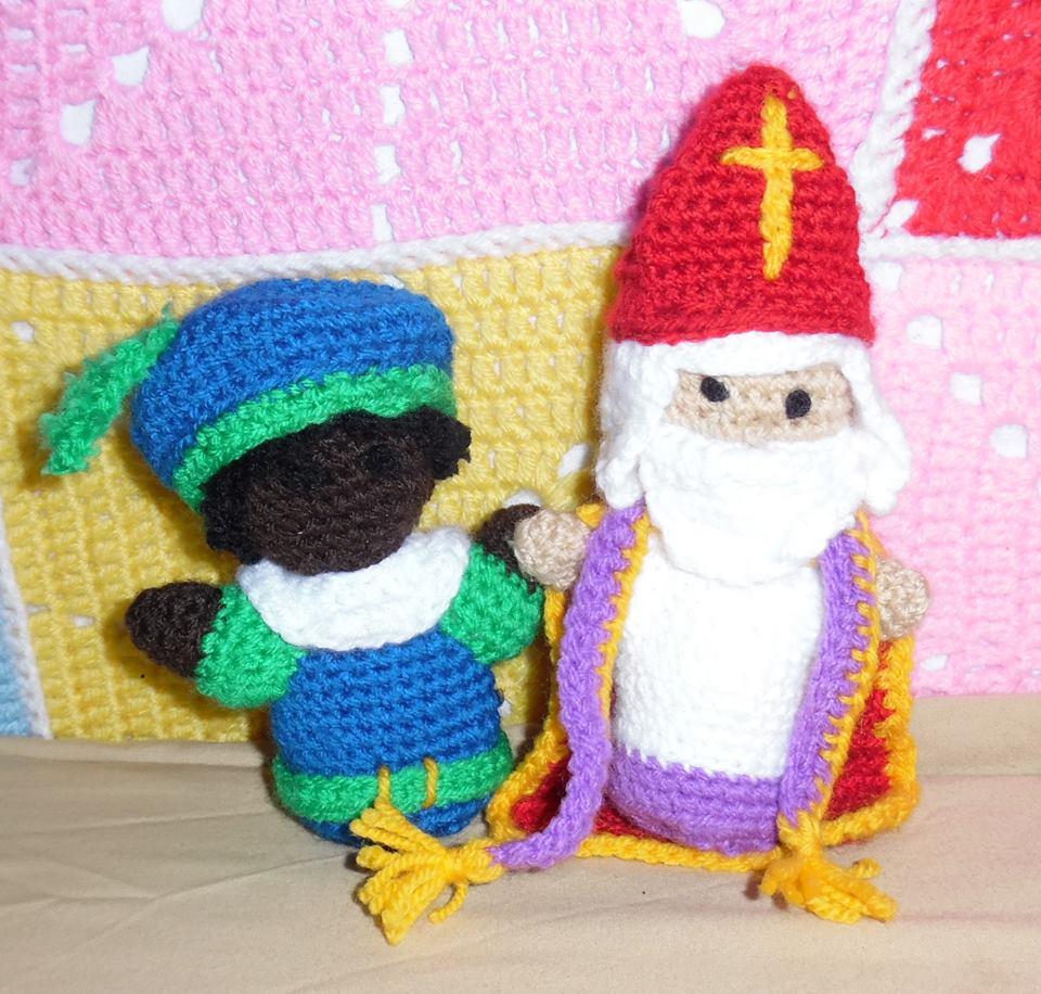 Sint en Piet Amigurumi haken crochet