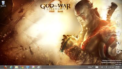 God Of War Ascension Windows 8 Theme