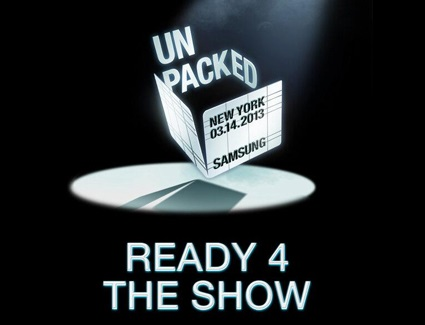 Watch Samsung GALAXY S4 Unpacked 2013 Launch Event Live Stream