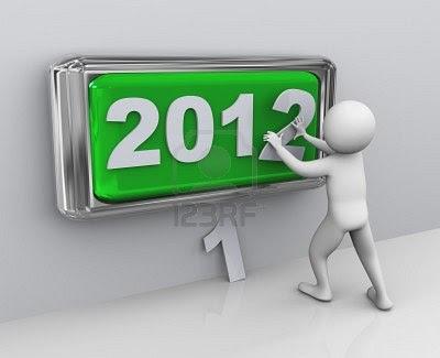 Kartu Ucapan Tahun Baru 2012 unik