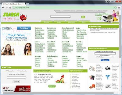 searchbulls.com screenshot