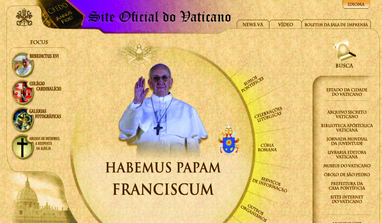 Site do Vaticano