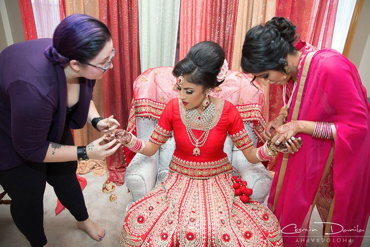 Kiran Parjeet Where Are The Canadian S Disearing Punjabi Wedding In Calgary